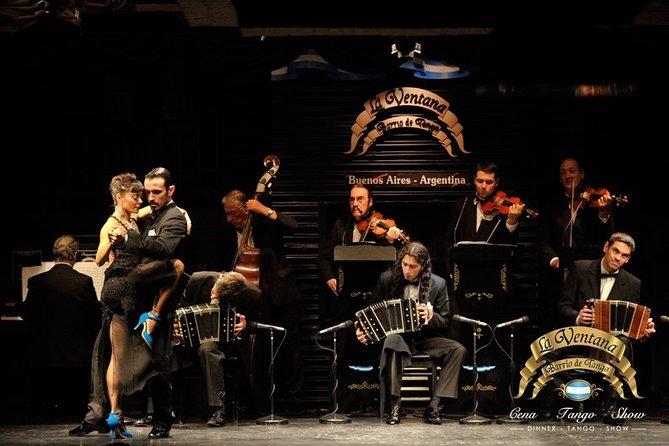 La Ventana Dinner and Tango Show with Optional Private City Tour