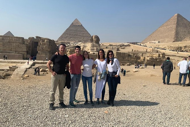 Guided Day Tour: Giza Pyramids, Sphinx, Saqqara and Dahshur Pyramids From Cairo