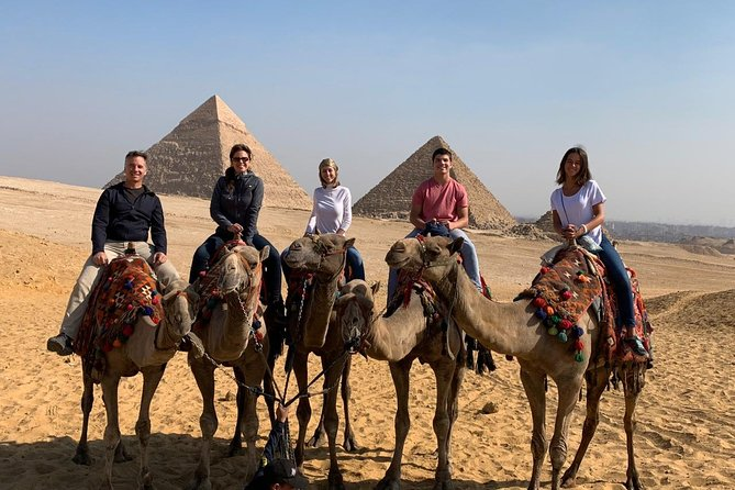 Private Half Day Trip to Giza Pyramids,Sphinx with Camel Ride from Cairo or Giza