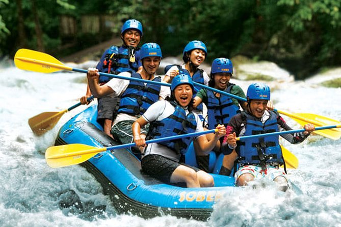 Ubud White Water Rafting Experience With Bali Swing