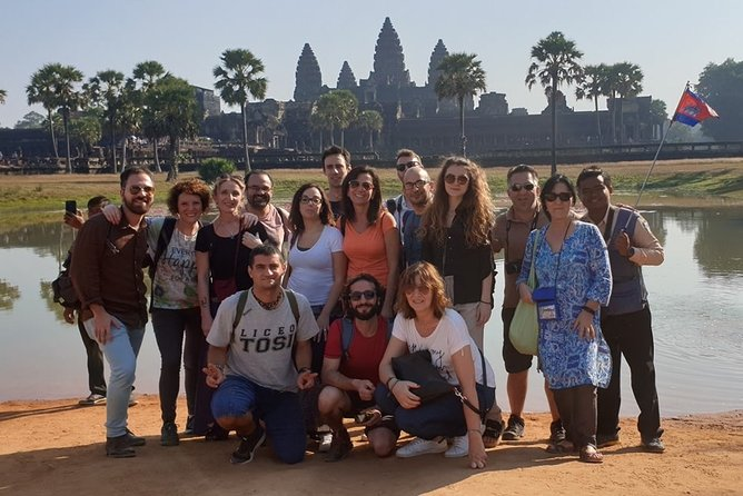 Angkor Full Day Private Tour with 2 Extra