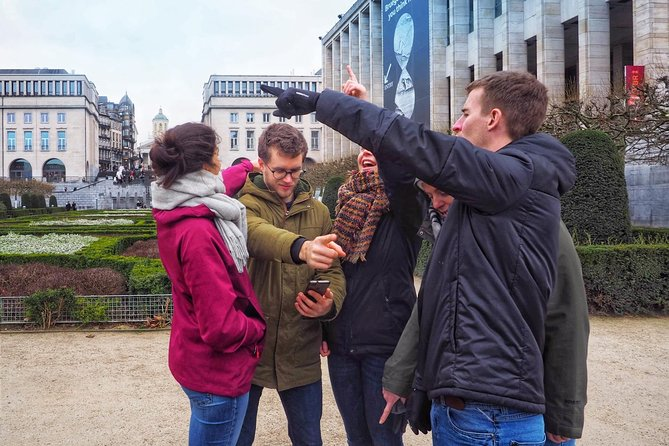 Urban treasure hunt to Discover Brussels Rise of the Dead