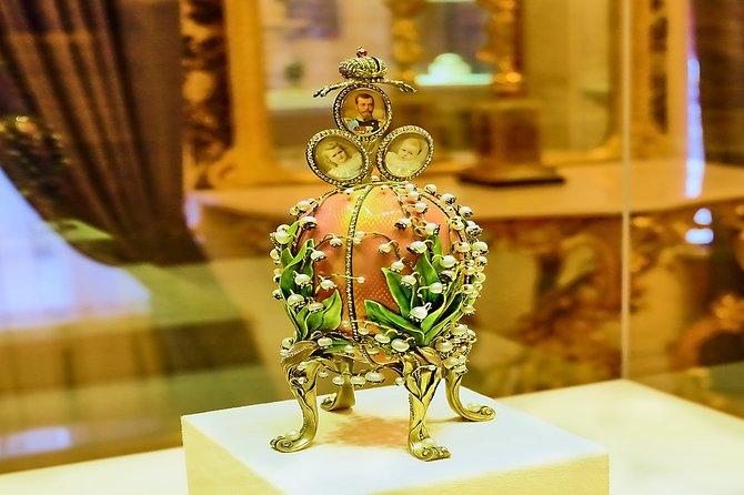 St. Petersburg: Fabergé Museum Guided Tour