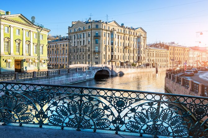 St. Petersburg: Fabergé Museum with a walk on rivers and canals
