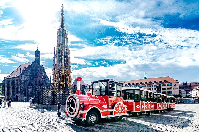 City tour through Nuremberg with the Bimmelbahn