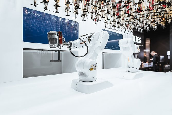 Robotic Bar Experience - Unlimited Drinks Tasting
