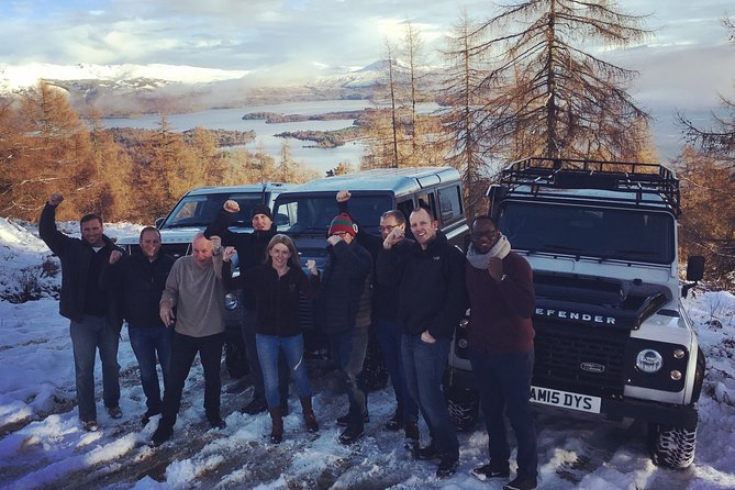 Full-Day Private Luxury Chauffeured Scotland Tour