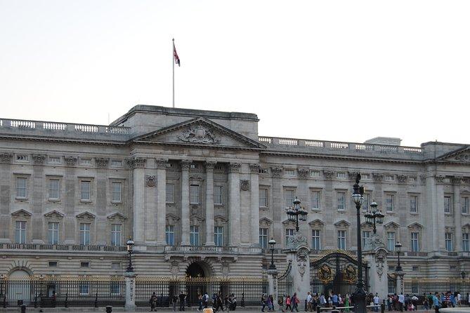 Group walking tour of London