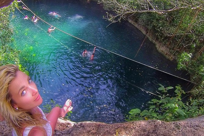 3 adrenaline activities Atvs Zipline and a swim experience in a cenote photo 6