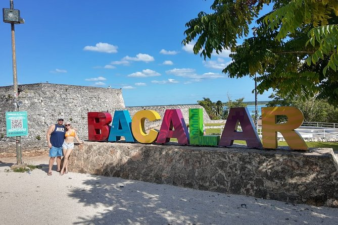 BACALAR – 7 Colors Lagoon with transportation from Costa Maya