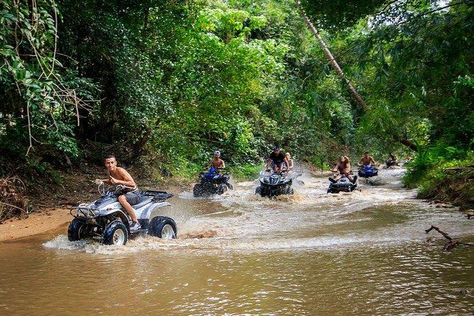 2 Hours ATV Quad Bike Popular Tour From Koh Samui