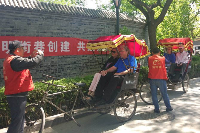 All-inclusive Private Day Trip: Hutongs, Lama Temple & Panda House with Lunch