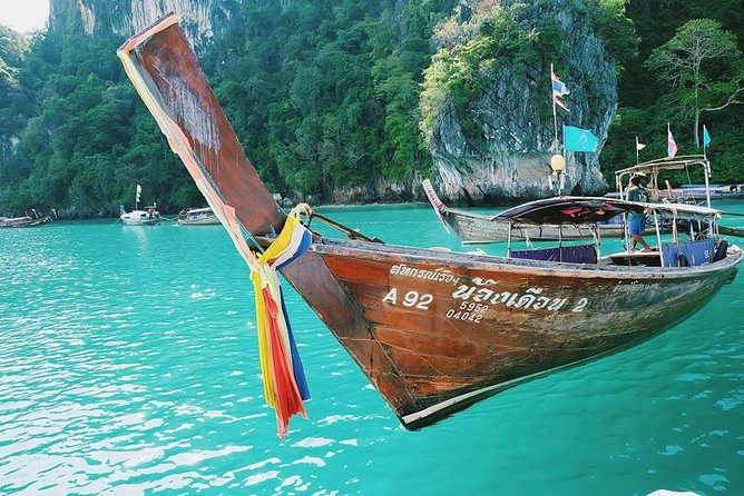 Longtail Boat Private Charter Tour to Hong Islands From Krabi