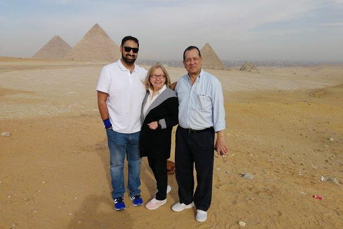 Giza complex pyramids ,Memphis old city and Sakkara tour