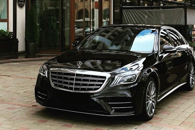 Arrival Private Transfers from Ibiza Airport IBZ to Ibiza in Luxury Car