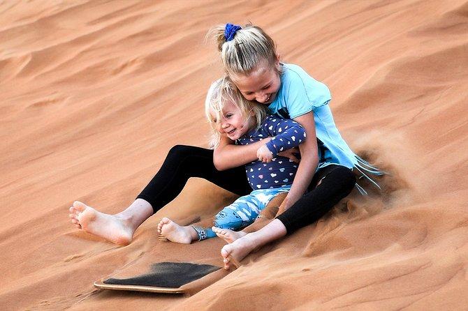 Abu Dhabi: 4-Hour Morning Desert Safari with Camel Ride and Sandboarding