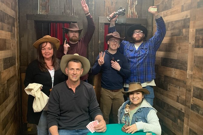 Wild West Heist Interactive Escape Room in Northfield, New Jersey
