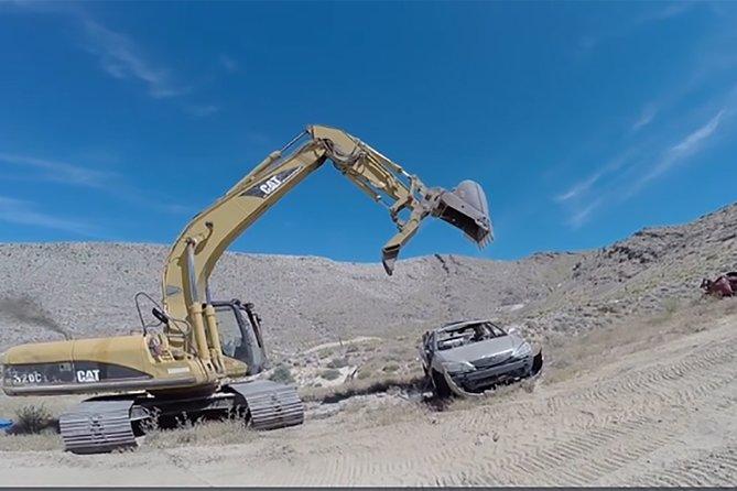 Car Crush and Shoot at Adrenaline Mountain