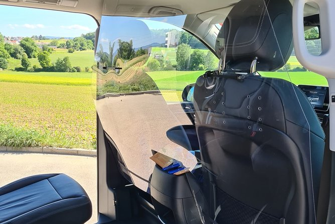 Private transfer Zurich Airport to Lucerne (1-3 persons)