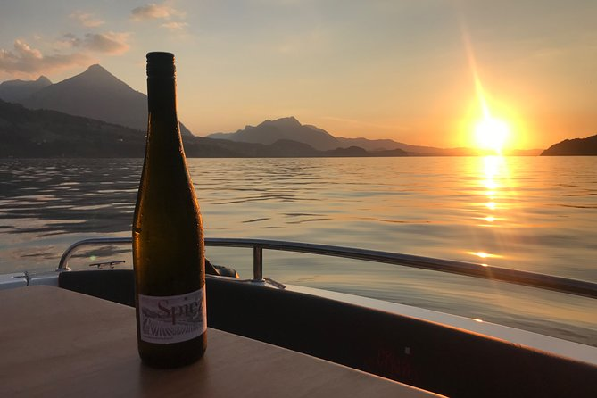 Private Cheese and Wine on a Swiss Lake by Boat