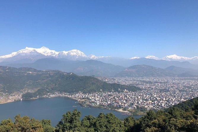 Hiking to World Peace Stupa