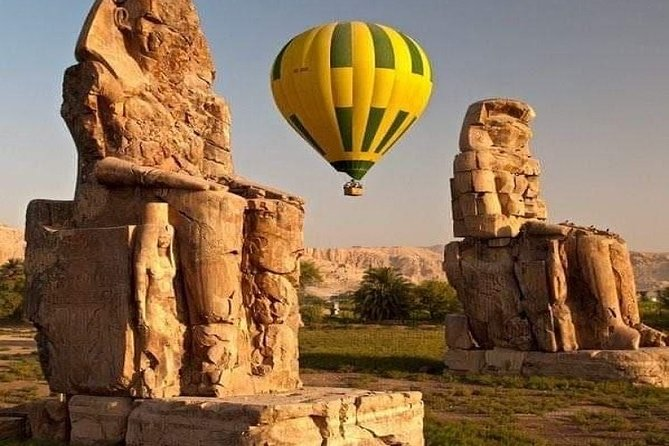Overnight Luxor Tours by train from Cairo with Hot Air Balloon and much more
