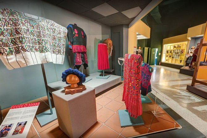 Guatemala City Archaeological and Textile Museum Tour