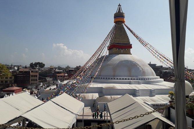 Baudhdhanath stupa in Kathmandu
