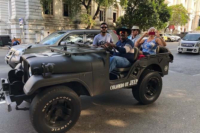 Colombo City Tour by War Jeep