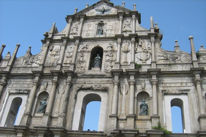 Macau Sightseeing City Tour with Buffet Lunch from Hong Kong
