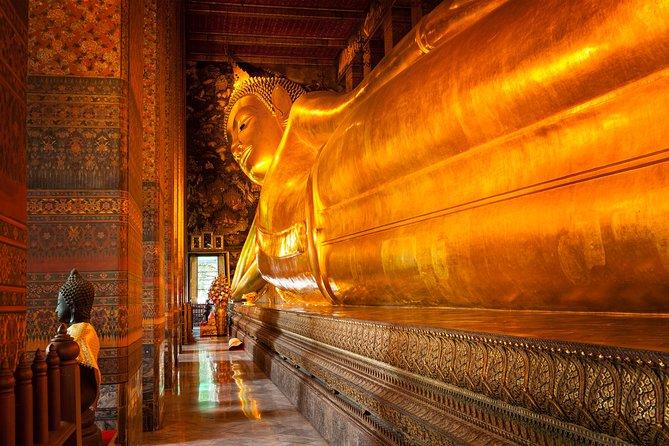 Bangkok Reclining Buddha (Wat Pho) Entrance Ticket with Hotel Transfer