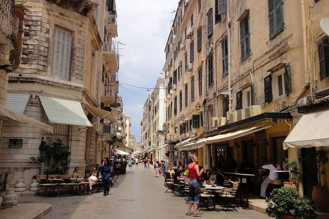 """Discovering Corfu"" historical city private walking tour"