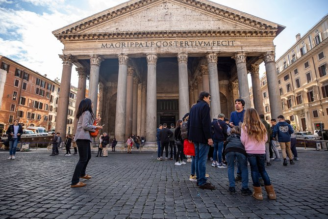 Kids-Friendly Evening Tour of Rome Must-see Sites with Gelato & Pizza