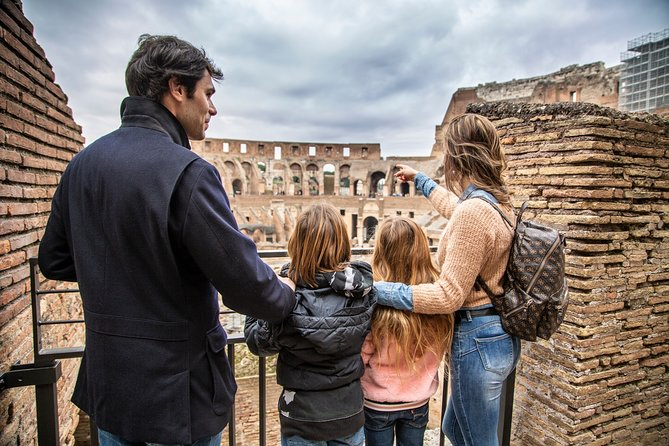Skip the Line Kids Tour of the Colosseum and Roman Forum with Hotel Pick Up
