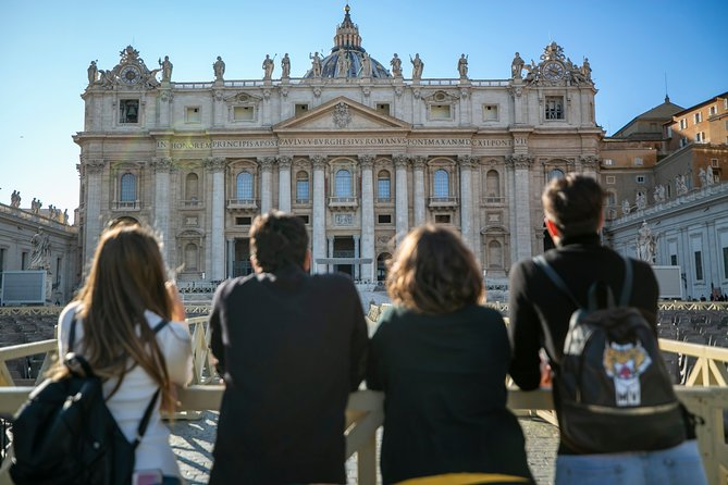 Vatican Skip the Line Private Tour including St Peter's Basilica and Dome