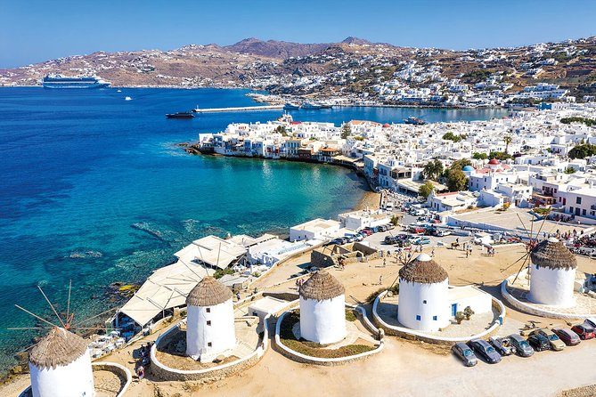 The Mykonos island's highlights private tour