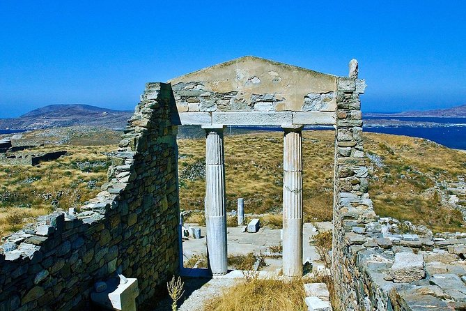Back to 2nd century BC boat tour to Delos island