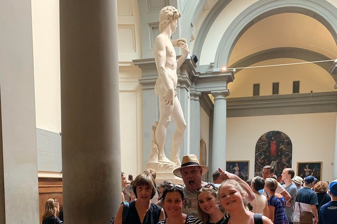 Florence Accademia Gallery and David Skip-the-Line Guided Tour with Hotel Pickup