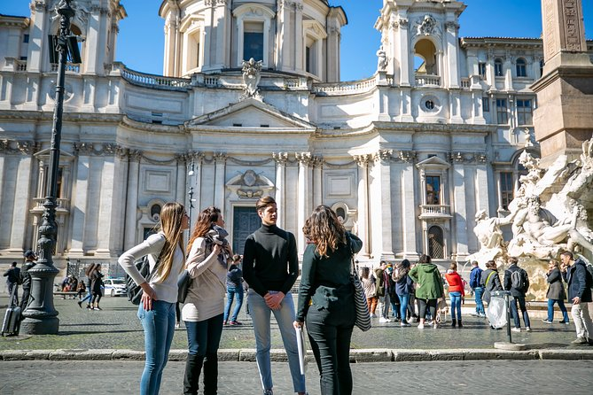 Walking Tour of Rome Must-See Sites By Night Pantheon Trevi