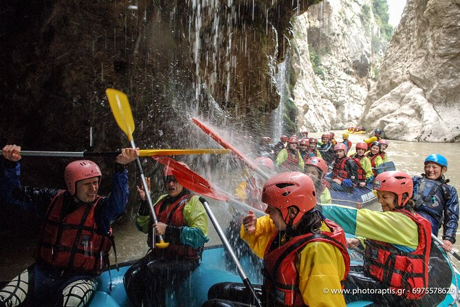 Arachthos white water river Rafting at Tzoumerka