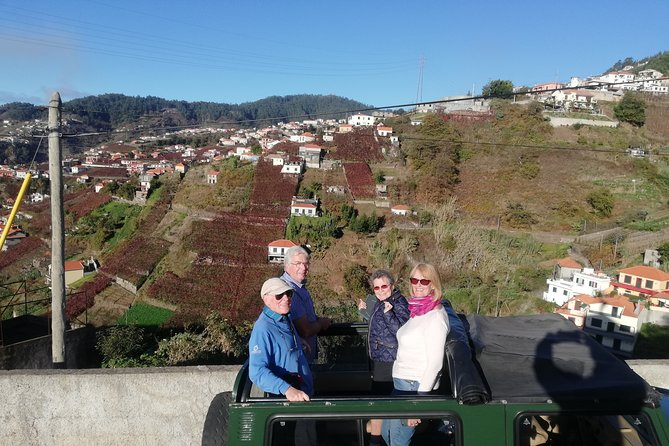 Poncha, Vineyards, Mountains & Cliffs (Nun´s Valley View) - Half Day 4x4 Tour