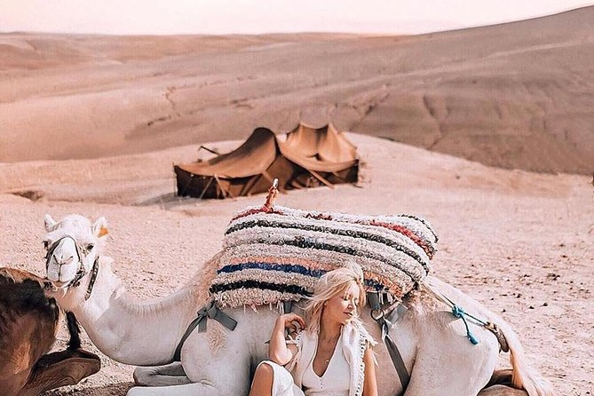 Half-Day Private Tour in Agafay Desert with Dinner