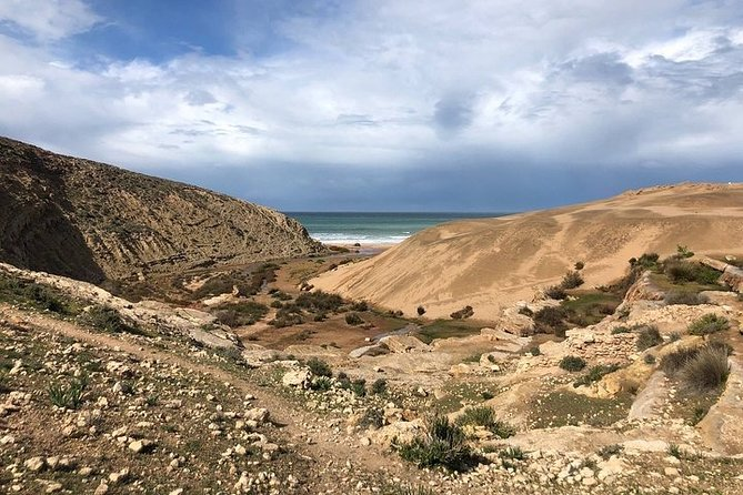 Walk to the cascade and marabout of Sidi Mbark & for a tea to Kaouki