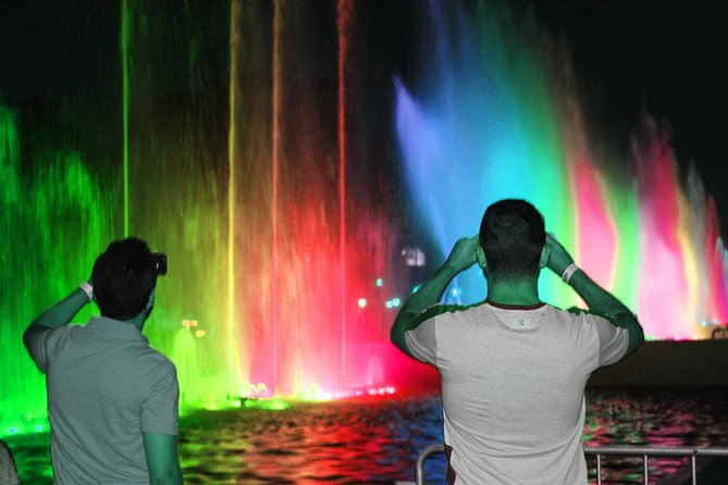 Magic Fountains Park & Bohemian Barranco - Night Tour (Small Group)