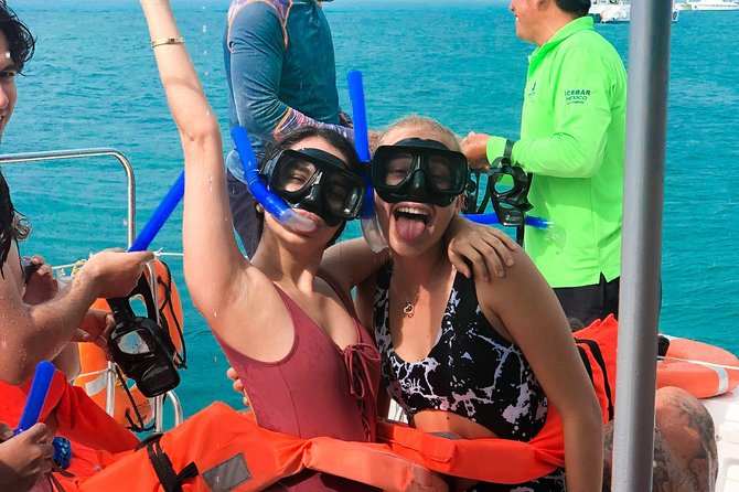 Isla Mujeres sailing tour from Cancun Snorkeling, Open Bar and Lunch Included