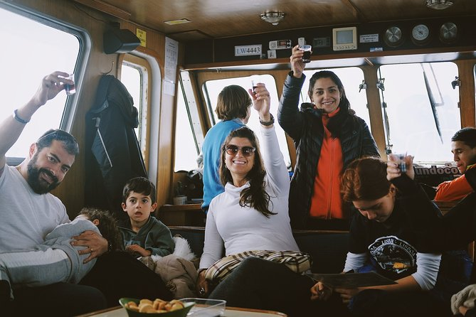 Sailing Ushuaia Beagle Channel in a yatch