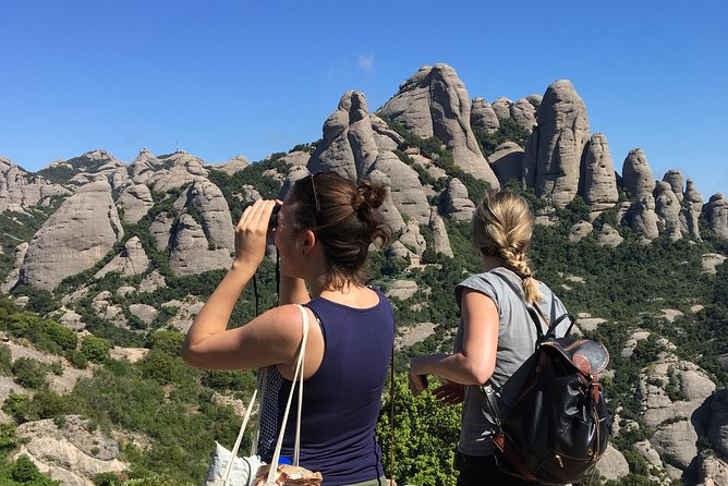 Montserrat Monastery & Cable Car & Panoramic Walking from Barcelona