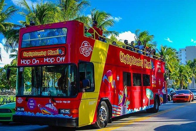Miami Double Decker Hop-on Hop-off Tour