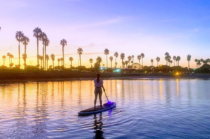 San Diego Paddle Board Sunset Glow Tour