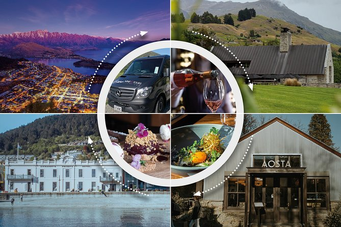 Queenstown Progressive Dinner & Wine Tour - 3 iconic locations